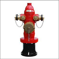防撞型室外地上消防栓