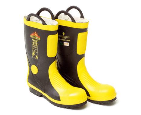 Harvik-9687L-橡膠消防靴-1